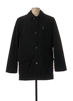 Manteau court noir PETER COFOX pour homme