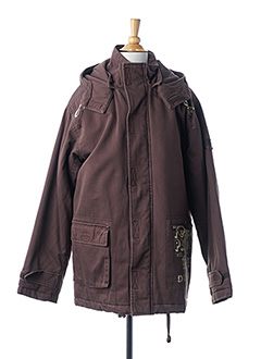 Veste casual marron TEDDY SMITH pour garçon