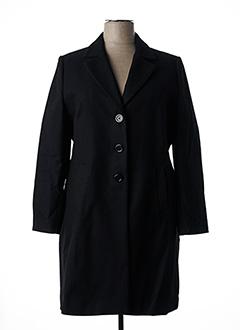 Manteau long noir DIAMBRE pour femme