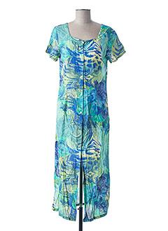 Robe longue bleu CANAT pour femme