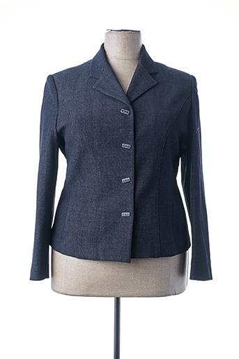 Veste chic / Blazer bleu UN POINT C EST TOUT pour femme