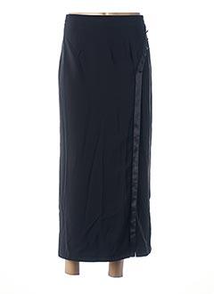 Jupe longue noir ESTHER pour femme