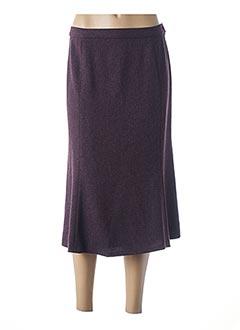 Jupe mi-longue violet KARTING pour femme