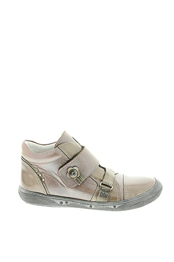 Bottines/Boots beige BELLAMY pour fille