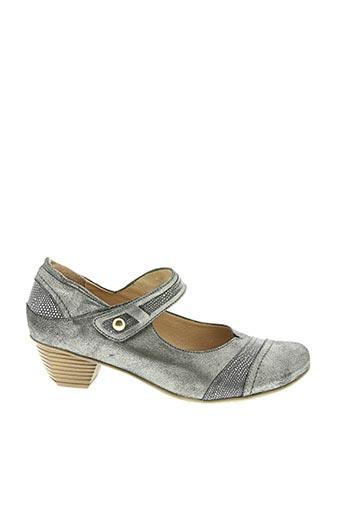 Escarpins gris ATIKA pour femme