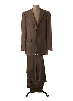 Veste/pantalon marron BRUNO SAINT HILAIRE pour homme