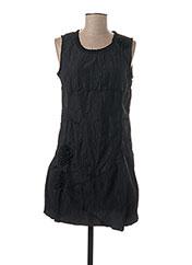 Robe courte noir L33 pour femme seconde vue