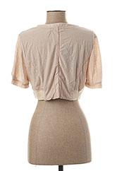 Veste casual beige VIRGINIE & MOI pour femme seconde vue
