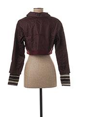 Veste casual rouge L33 pour femme seconde vue