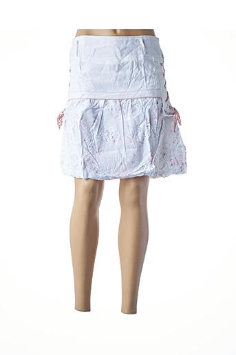 Jupe courte blanc L33 pour femme