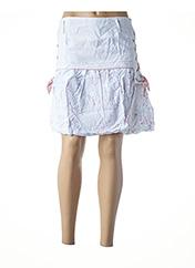 Jupe courte blanc L33 pour femme seconde vue