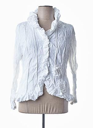 Veste casual blanc L33 pour femme