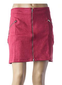 Jupe courte rouge L33 pour femme