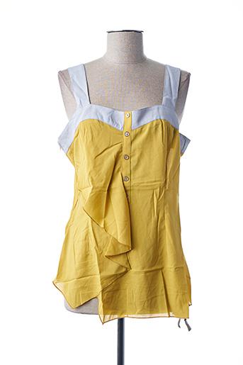 Top jaune L33 pour femme