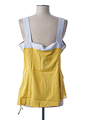 Top jaune L33 pour femme seconde vue