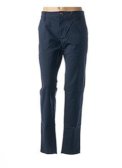 Pantalon casual bleu BIG SPADE pour femme