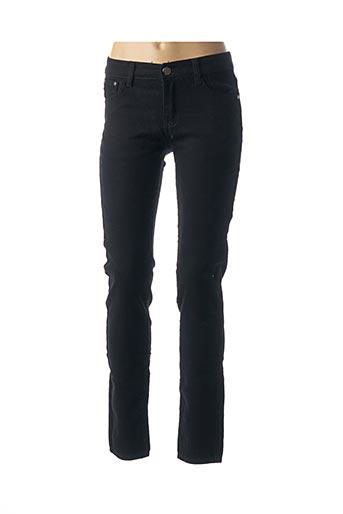 Pantalon casual noir BS JEANS pour femme