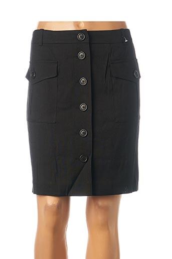 Jupe courte noir TEENFLO pour femme