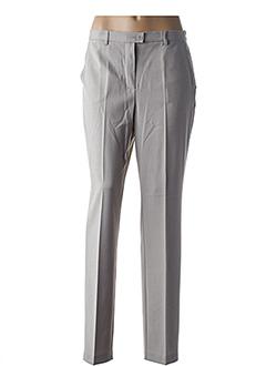 Pantalon chic gris BRANDTEX pour femme