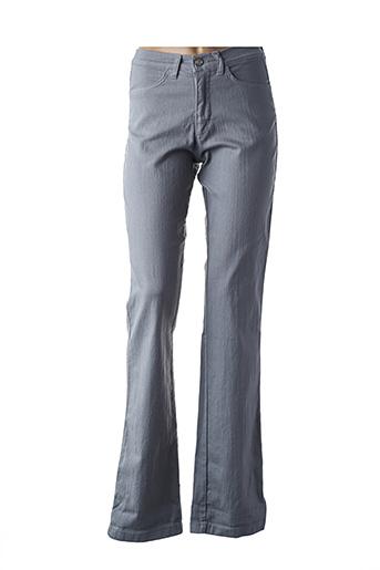 Pantalon casual gris AQUAJEANS pour femme