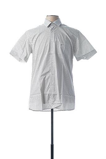 Chemise manches courtes gris CHATEL pour homme