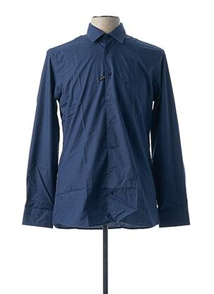 Chemise manches longues bleu CHATEL pour homme