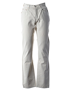 Pantalon casual beige SETRAK pour homme