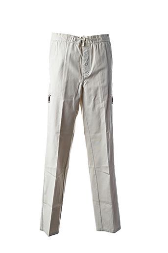Pantalon casual beige PETER COFOX pour homme