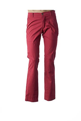 Pantalon casual rouge PETER COFOX pour homme