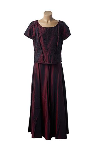 Top/jupe rouge INITIATIVE pour femme