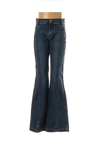 Jeans coupe droite bleu TEDDY SMITH INDUSTRY pour garçon