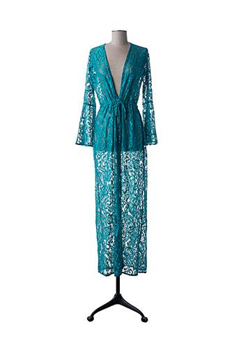 Robe de chambre bleu 100% BRASIL pour femme