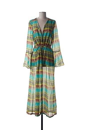 Robe de chambre vert 100% BRASIL pour femme