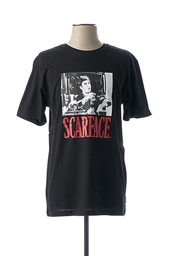 T-shirt manches courtes noir ONLY&SONS pour homme