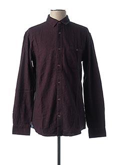 Chemise manches longues noir ONLY&SONS pour homme