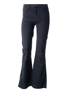 Jeans bootcut noir LEE pour femme