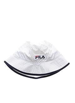 Chapeau blanc FILA pour homme