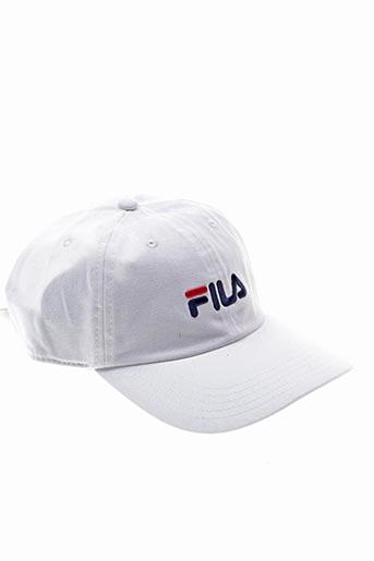 Casquette blanc FILA pour unisexe