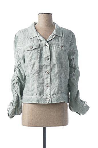 Veste casual vert SANDWICH pour femme