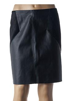 Jupe courte noir STREET ONE pour femme