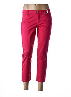 Pantalon 7/8 rose STREET ONE pour femme