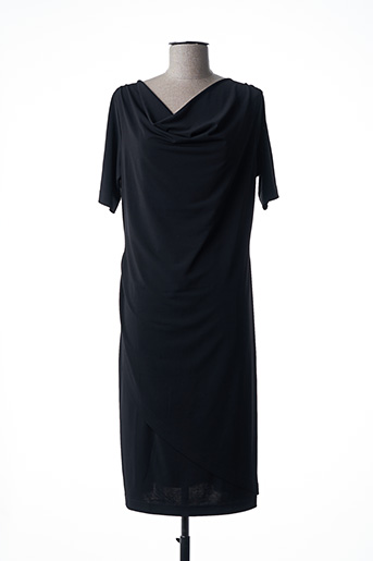 Robe mi-longue noir EUGEN KLEIN pour femme