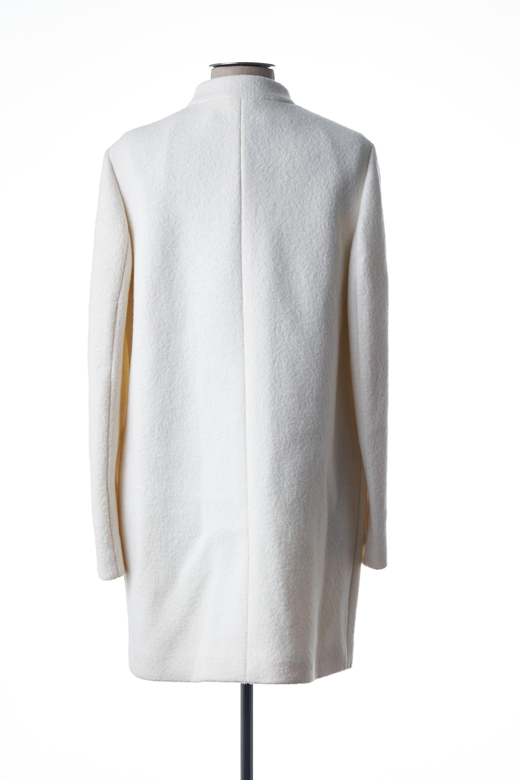 Basler Manteaux Longs Femme De Couleur Blanc En Soldes Pas