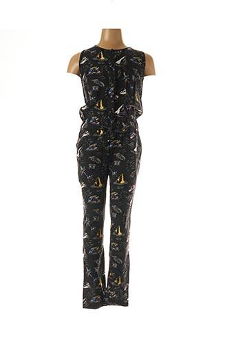 Combi-pantalon noir ELEVEN PARIS pour fille