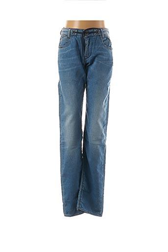 Jeans coupe slim bleu LE TEMPS DES CERISES pour garçon