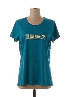 T-shirt manches courtes bleu ASTORE pour femme