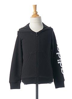 Veste casual noir ADIDAS pour fille