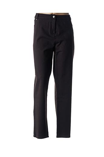 Jeans coupe droite marron EVER EASY BY JAC JAC pour femme