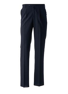Pantalon chic bleu LUC SAINT ALBAN pour homme