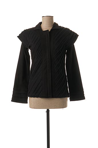 Veste casual noir BAMBOO'S pour femme